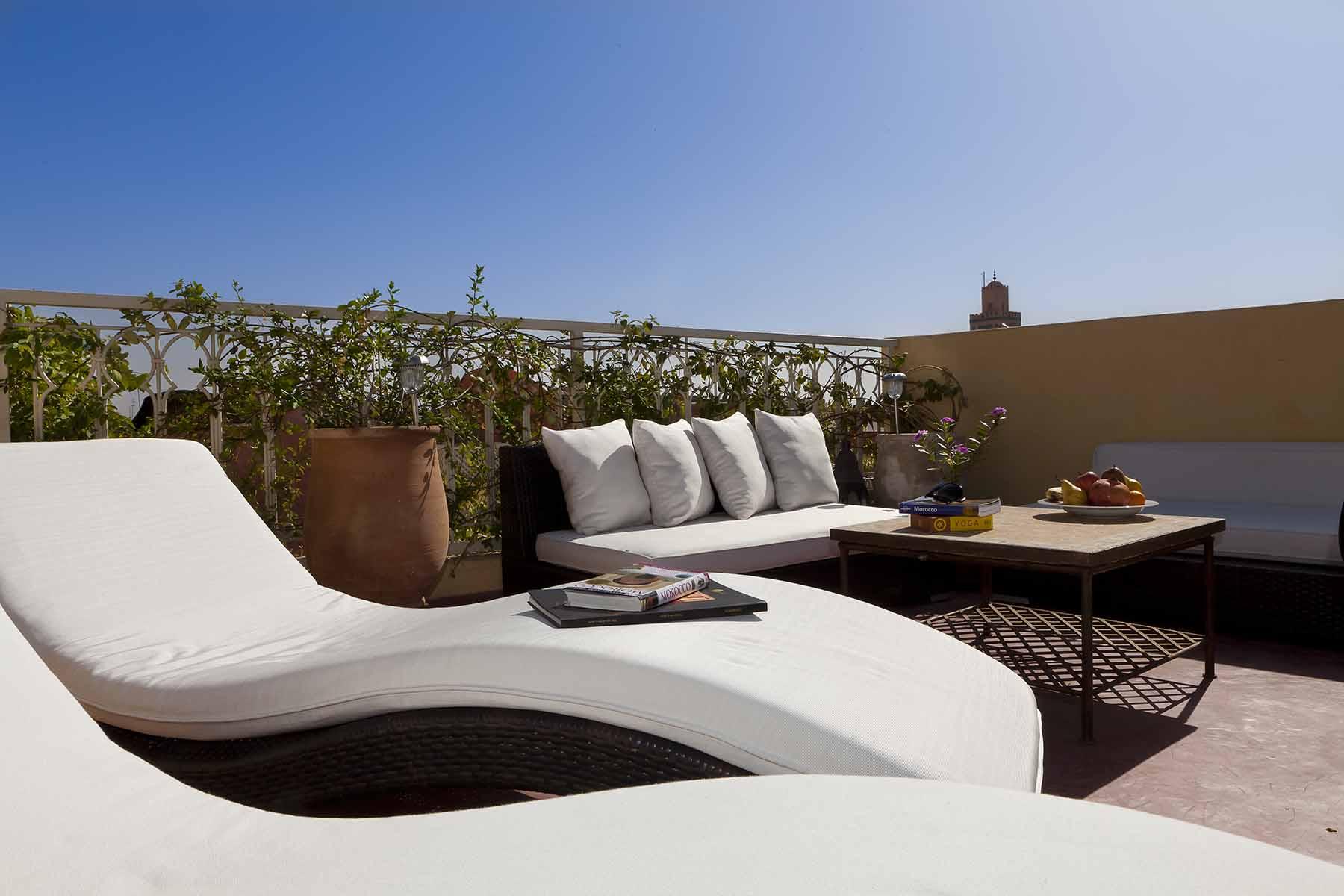 RIAD COCOON MARRAKECH   riad luxe medina - terrasse - salon- Marrakech Riad_Cocoon