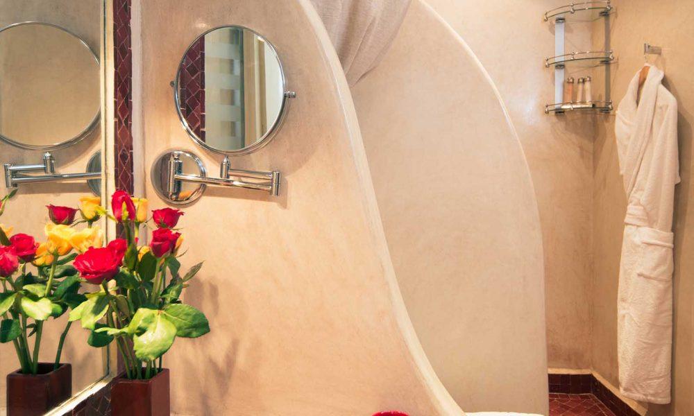 RIAD COCOON MARRAKECH   riad luxe medina, salle de bain, Marrakech Riad_Cocoon