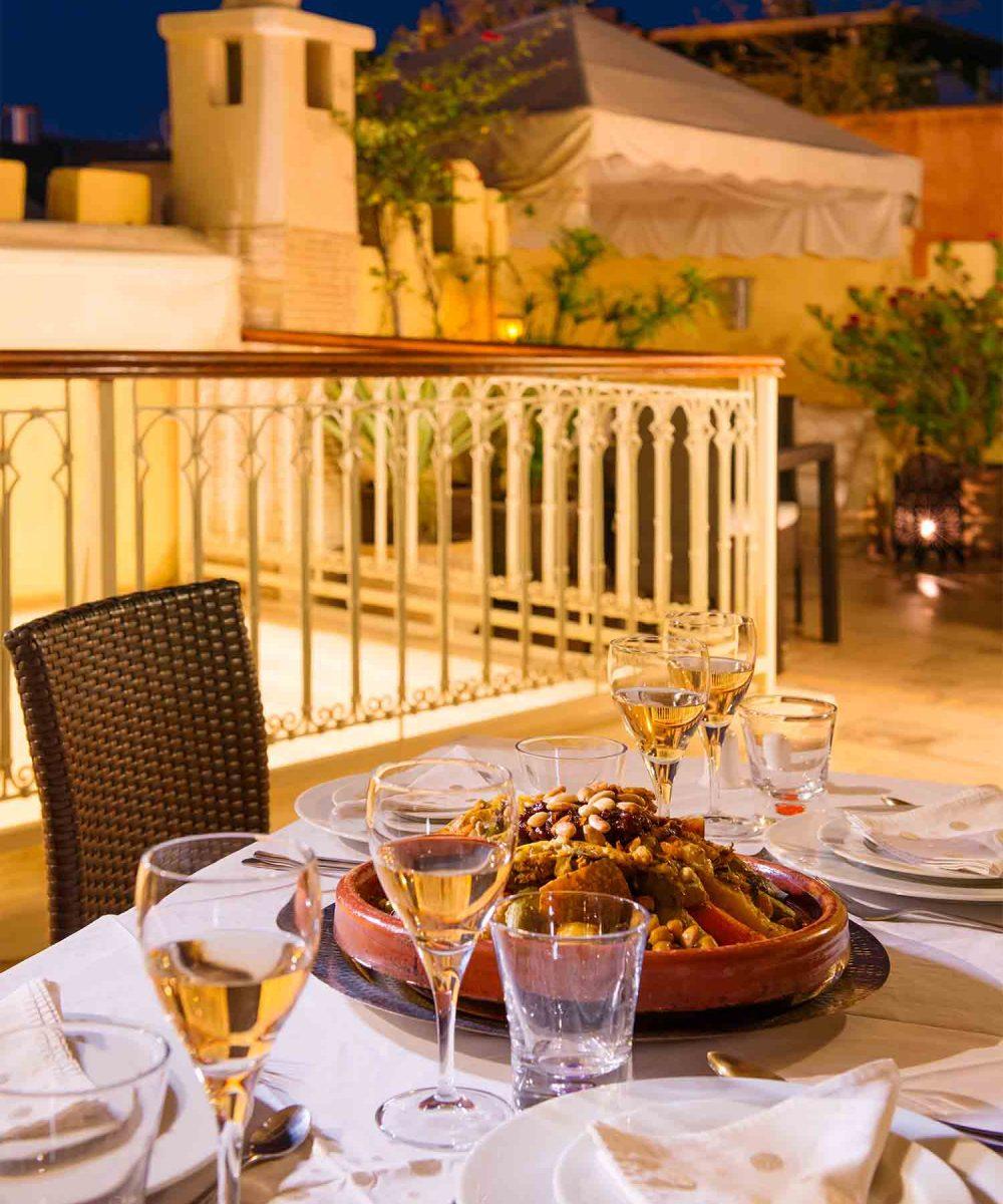 RIAD COCOON MARRAKECH   riad luxe medina, cuisine dîner restaurnt, Marrakech Riad_Cocoon