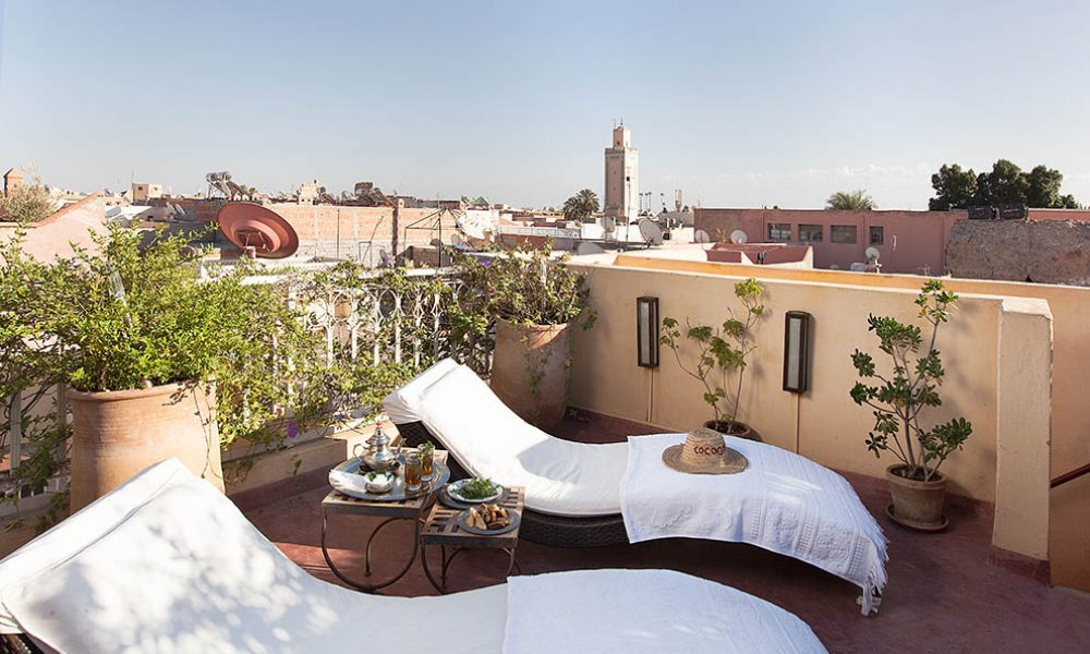 RIAD COCOON MARRAKECH   riad luxe medina, épices marocain - terrasse- petit-déjeuner- Marrakech Riad_Cocoon