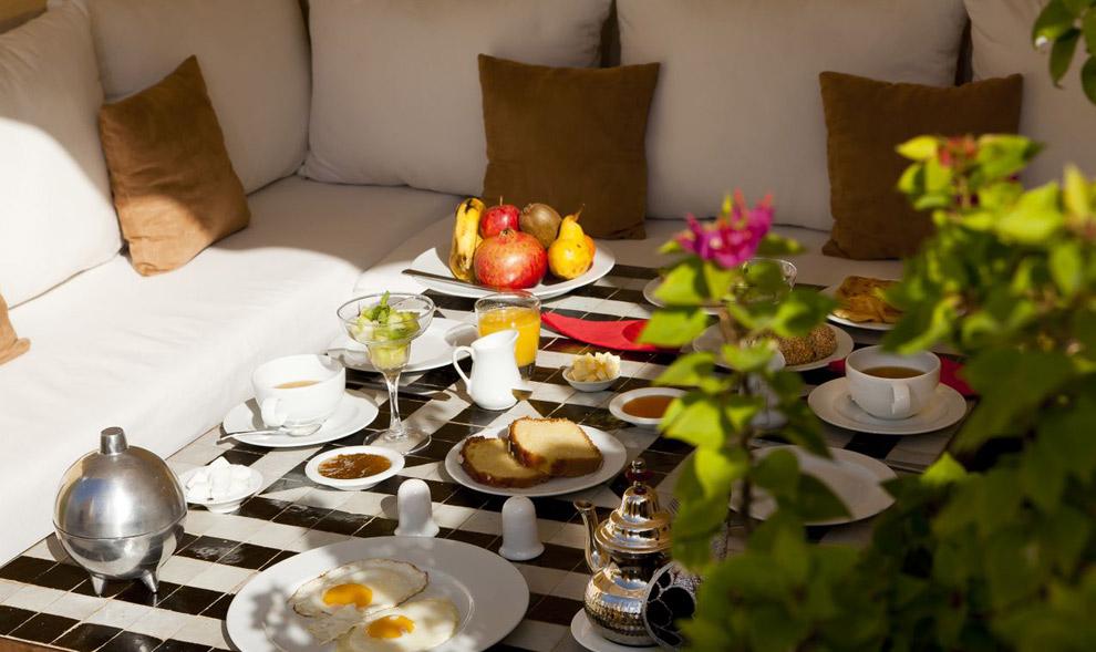 RIAD COCOON MARRAKECH | riad luxe medina, épices marocain - terrasse- petit-déjeuner- Marrakech Riad_Cocoon